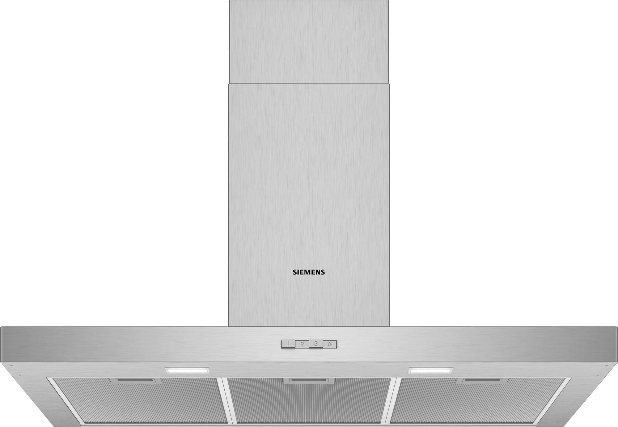 Siemens lc94bbc50 wandesse 90 cm wand hauben dunstabzugshauben kochen backen global - Wand dunstabzugshauben ...