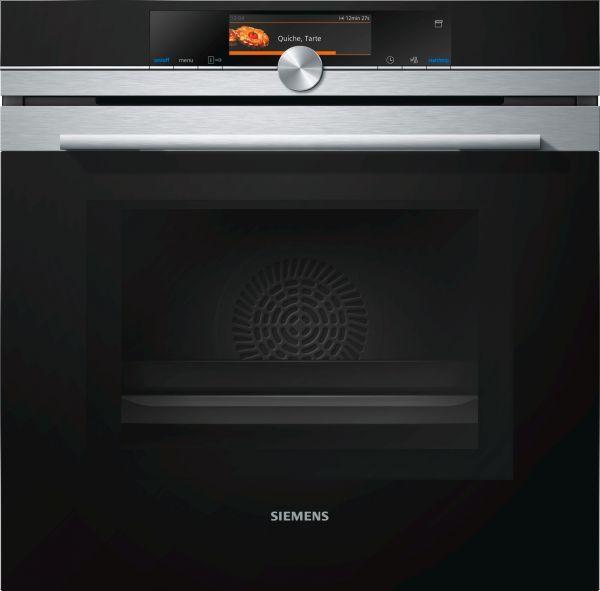Siemens HN678G4S6 Einbau-Backofen mit Mikrowelle