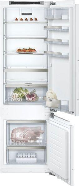 Siemens KI87SADD0, iQ500, Einbau-Kühl-Gefrier-Kombination mit Gefrierbereich unten, 177.2 x 55.8 cm