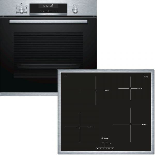 Bosch HBD675CS60 Backofen-Set