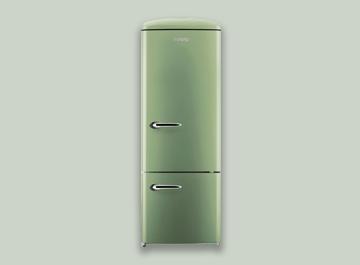 Gorenje Kühlschrank Bulli : Kühlschrank retro gorenje gorenje orb bk l schwarz bei