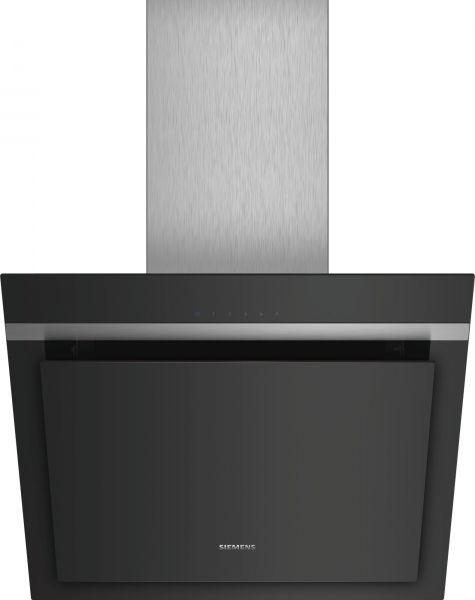 Siemens LC67KHM60 Schrägesse, Schwarz mit Glasschirm