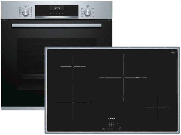 Bosch HBD634CS80 Backofen-Set