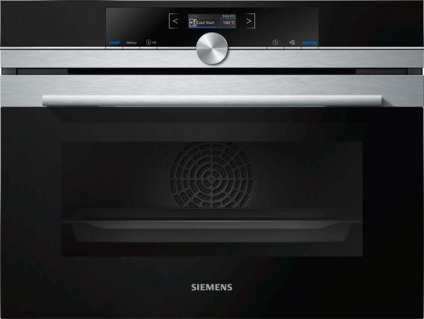 Siemens CB634GBS3 Einbau-Kompaktbackofen