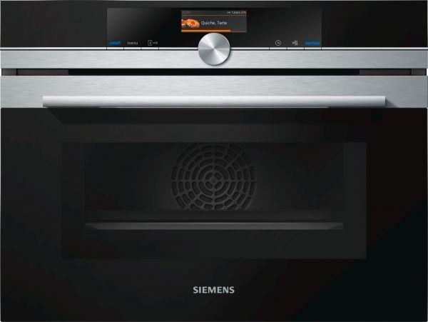 Siemens CM676G0S1 Einbau-Kompaktbackofen mit Mikrowelle