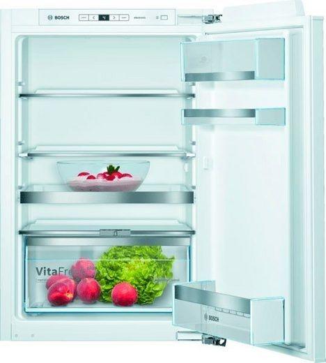 BOSCH KIR21AFF0 Einbau-Kühlautomat 88 cm SmartCool, Flachscharniertechnik; EEK: A++