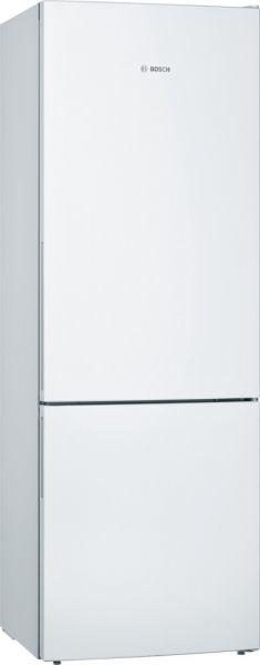 Bosch KGE49AWCA freistehende Kühl-Gefrier-Kombination, weiß, 201x70cm