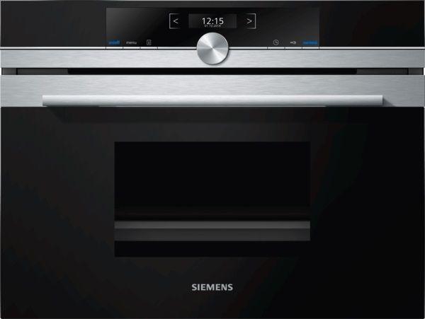 Siemens CD634GAS0 Kompaktdampfgarer, Edelstahl
