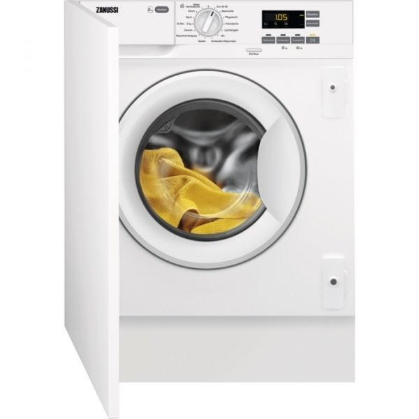 Zanussi ZWI8144WA Einbauwaschmaschine, 8,0 KG