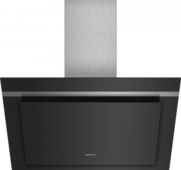 Siemens LC87KHM60 Wand-Esse, Schwarz mit Glasschirm, 80 cm