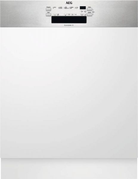 AEG FEB41600ZM Edelstahl Einbau-Geschirrspüler, integrierbar, 60 cm, A+