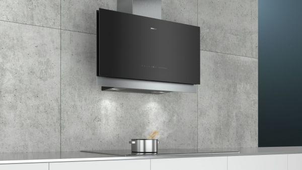 Siemens LC97FQV60 90 cm Wand-Esse, schwarz mit Glasschirm