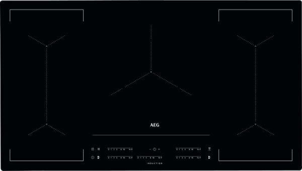 AEG IKE 95454 IB Induktion Autark 90 Cm BridgeFunktion Flächenbündiger  Einbau