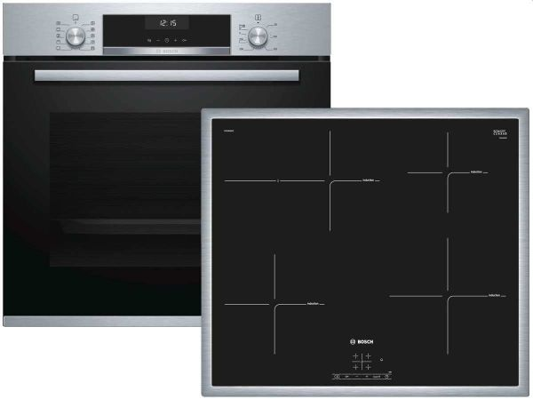 Bosch HBD635CS60 Backofen-Set